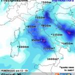 METEO: NEVE DA LUNEDI', MERCOLEDI SARA' BIG SNOW AL NORD-OVEST
