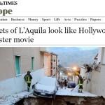 IL TIMES A L'AQUILA: «UN INCUBO CHE CONTINUA A 5 ANNI DAL SISMA»