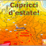 METEO: CAPRICCI D'ESTATE AL NORD, SOLE E CALDO AL CENTRO-SUD