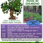 FESTA DELLE FORESTE, IL 4 OTTOBRE AL CHIARINO (GRAN SASSO)