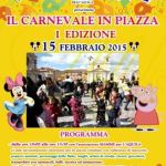 L'AQUILA, CARNEVALE IN PIAZZA DUOMO DOMENICA 15 FEBBRAIO