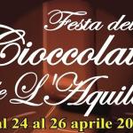 L'AQUILA, 4° FESTA DEL CIOCCOLATO ARTIGIANALE, DAL 24 AL 26 APRILE