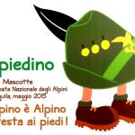 «ALPIEDINO», LA MASCOTTE DELL'ADUNATA DEGLI ALPINI