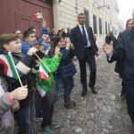 """MATTARELLA A L'AQUILA SUI FATTI DI PARIGI: """"DA ITALIA FERMEZZA"""""""