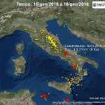 ITALIA SISMICA: I TERREMOTI DI GENNAIO 2016 (VIDEO INGV)