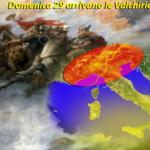 METEO: CICLONE 'VALCHIRIE' MINACCIA PONTE DEL 2 GIUGNO