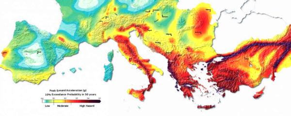 Italia a forte rischio sismico pericolo sottovalutato for Mappa sismica italia