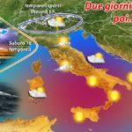 METEO: 2 GIORNI DI SOLE, MA DA DOMENICA INCOMBE IL CICLONE 'GIUNONE'