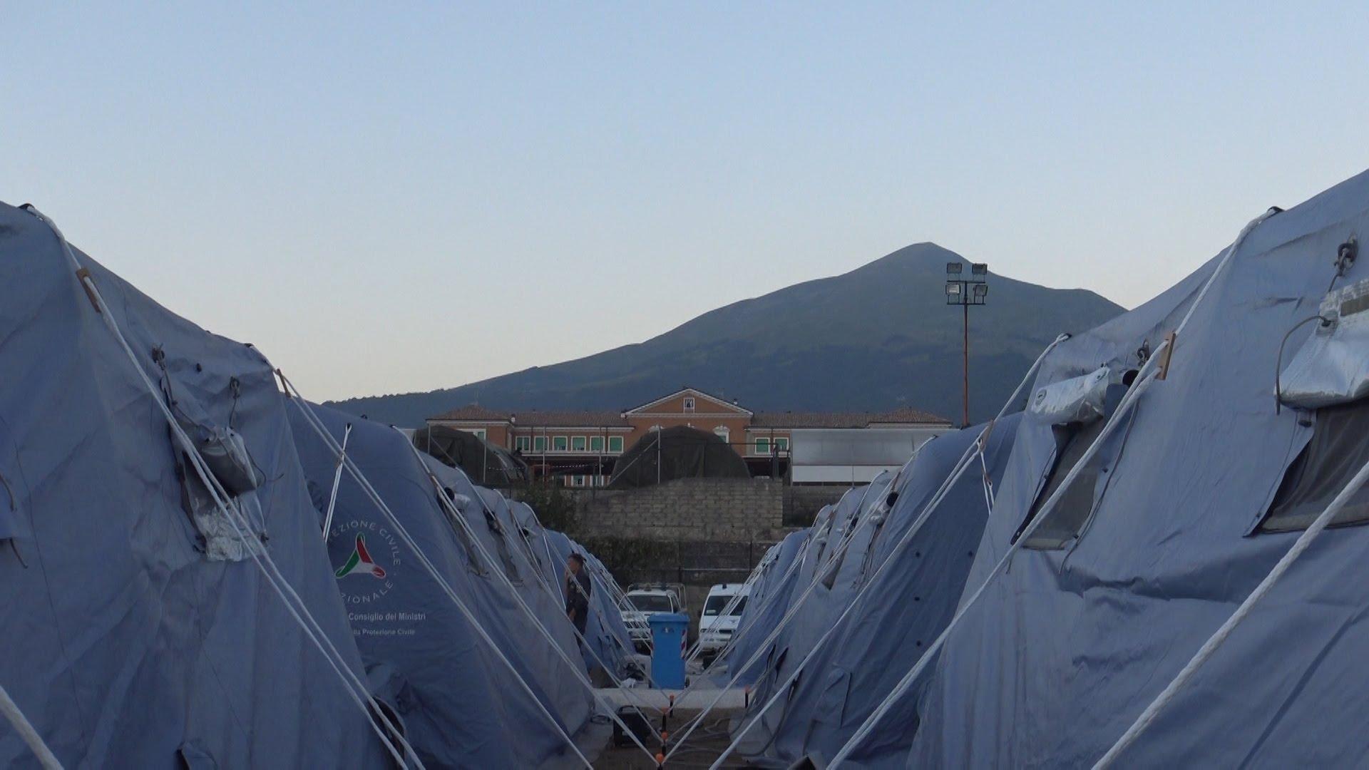 Terremoto centro italia, 2 ottobre: scende ancora la popolazione assistita