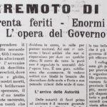 I titoli di prima pagina del settimanale Corriere Riminese del 27 agosto 1916