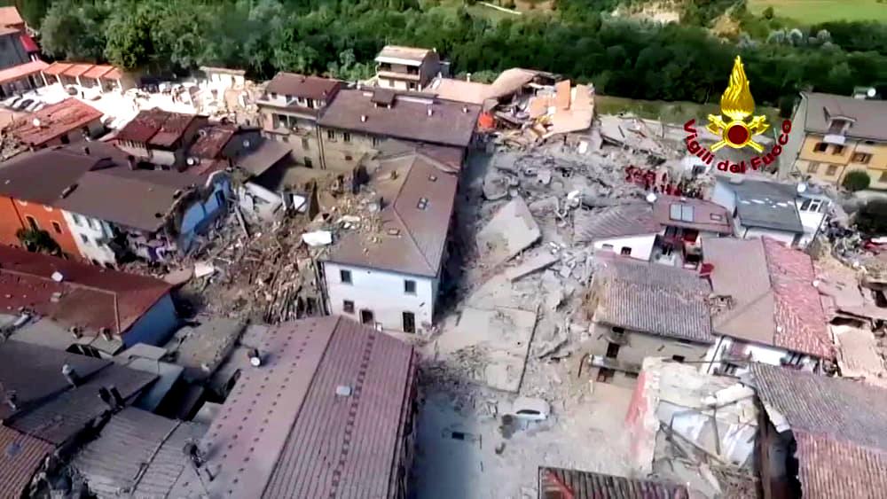 Terremoto: comune amatrice lancia campagna 'adotta un'opera'
