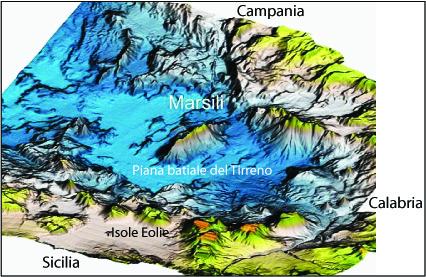 Marsili: lo stato delle conoscenze su questo vulcano sommerso nel tirreno