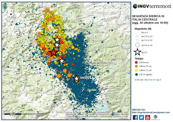 Sequenza sismica in Italia centrale: aggiornamento del 30 ottobre 2016, ore 10:00-media-2