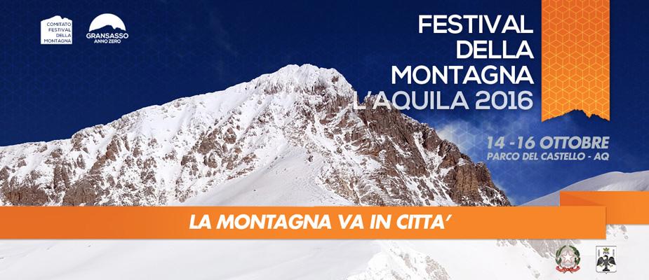 L'aquila, festival della montagna: dal 14 al 16 ottobre, molti gli eventi in programma