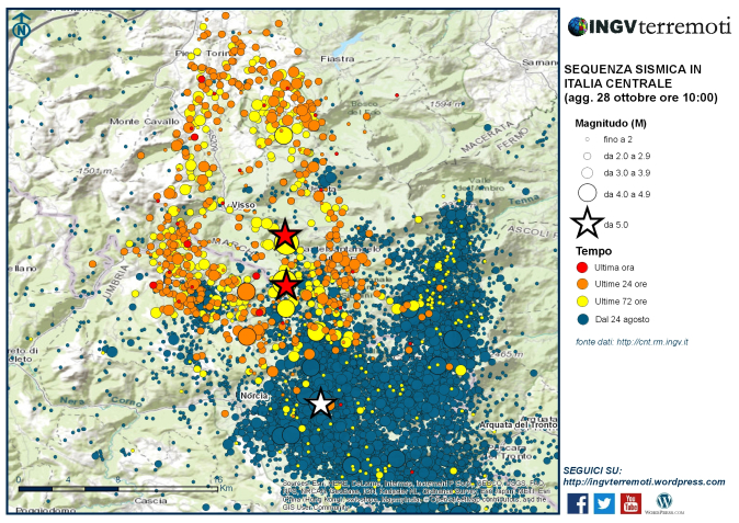Sequenza sismica in Italia centrale: aggiornamento del 28 ottobre 2016, ore 10:00-media-1