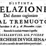 3 NOVEMBRE 1706, TERREMOTO IN MAJELLA: INCREDIBILE TESTIMONIANZA STORICA DEL MARCHESE DI VIGLIENA