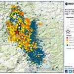 SEQUENZA SISMICA CENTRO ITALIA, AGGIORNAMENTO INGV: 19 EVENTI DI MAGNITUDO FA 4 E 5 DOPO LA SCOSSA M.6.5