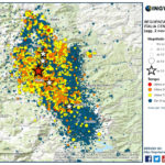 SEQUENZA SISMICA ITALIA CENTRALE, AGGIORNAMENTO INGV: OLTRE 21.600 SCOSSE DAL 24 AGOSTO