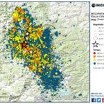 SEQUENZA SISMICA ITALIA CENTRALE, AGGIORNAMENTO INGV: 41 EVENTI DI MAGNITUDO FRA 4 E 5 DAL 24 AGOSTO