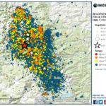SEQUENZA SISMICA ITALIA CENTRALE, AGGIORNAMENTO INGV: DAL 30 OTTOBRE OLTRE 3700 SCOSSE