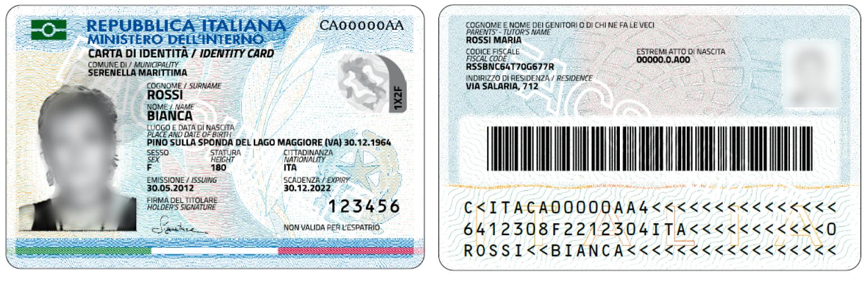 Arriva a l'aquila, a 20 euro, la carta d'identita' elettronica: conterra' le impronte digitali
