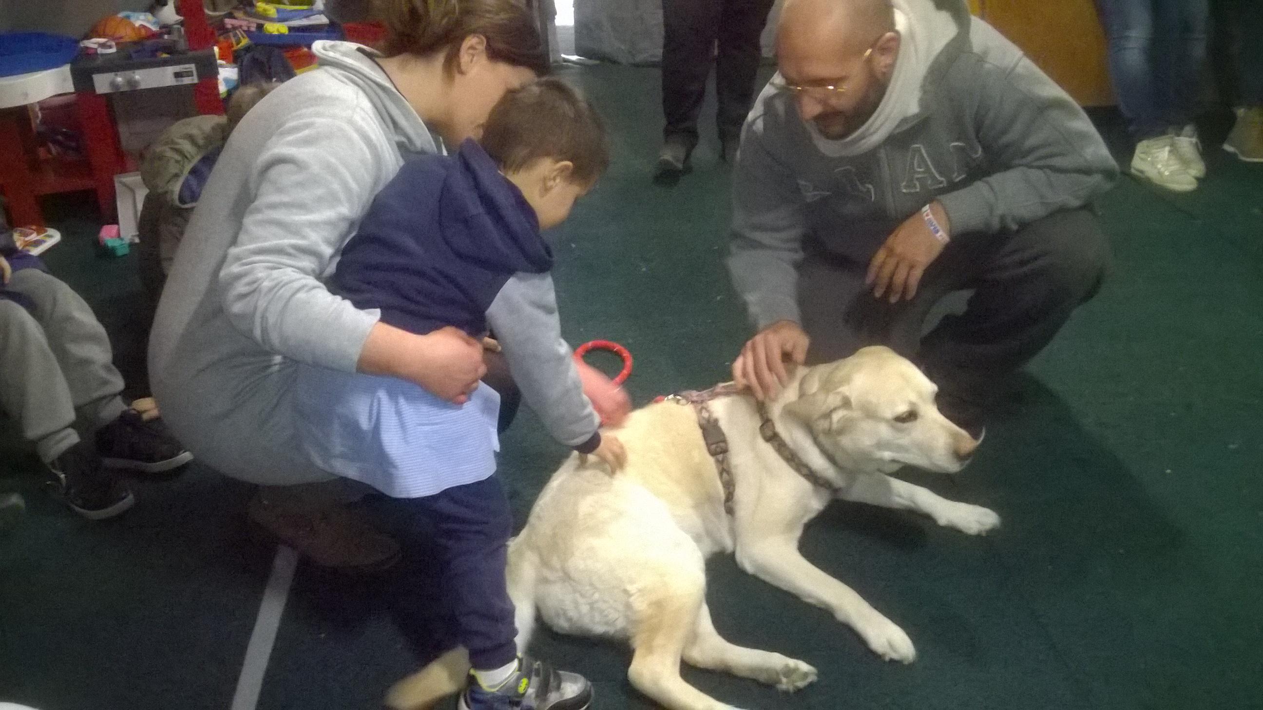 La pet therapy contro la paura del terremoto. Si parte da cittareale