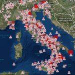 I PIU' FORTI TERREMOTI IN ITALIA: ECCOLI IN UNA MAPPA INTERATTIVA