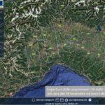 MALTEMPO: LE IMMAGINI SATELLITARI DELL'ALLUVIONE IN LIGURIA E PIEMONTE