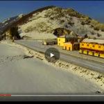 VIDEO: TORNA IL TRENINO STORICO PER I MERCATINI D'ABRUZZO