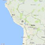 VIOLENTO TERREMOTO IN PERU', MAGNITUDO 6.3