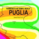 INGV: LISTA TERREMOTI IN TEMPO REALE IN PUGLIA (PROV. FOGGIA)