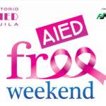 LA FONDAZIONE CARISPAQ SOSTIENE IL V AIED FREE WEEK-END