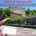 """""""4 PASSI SULLA FAGLIA"""", ESCURSIONE COL GEOLOGO MORETTI"""
