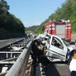 INCIDENTE MORTALE SULL'A24