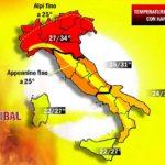 METEO: HANNIBAL INFUOCA L'ITALIA, FINO A 34 GRADI LA PROSSIMA SETTIMANA