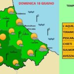 METEO: WEEKEND SENZA AFA, TEMPERATURE MASSIME SUI 25 / 28°C