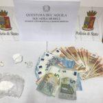 L'AQUILA: ANCORA UN ARRESTO PER DROGA