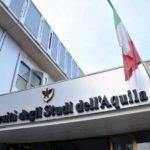 RICOSTRUZIONE: 20 BORSE DI STUDIO PER STUDENTI UNIVERSITA' DELL'AQUILA